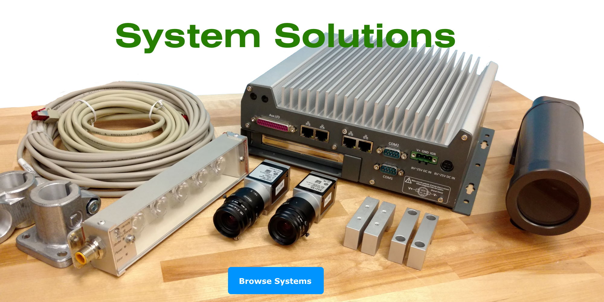 machine vision system solutions